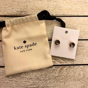 🎀 Kate Spade Black Gold Stud Earrings 🎀